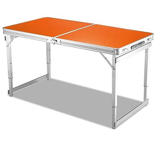 Mesa plegable para exteriores, mesa portátil simple para el hogar ...