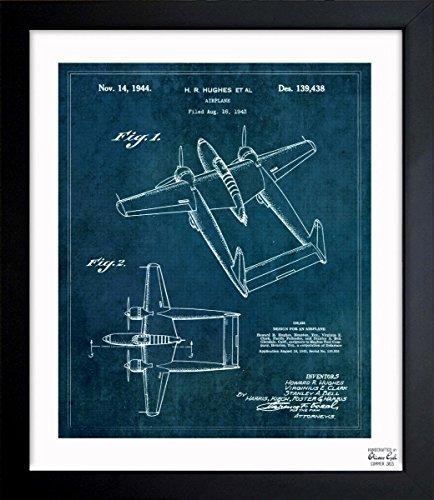 vintage airplane blueprint - 7