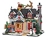 Lemax Christmas - Best Decorated House with 4.5V Adaptor (25337UK)