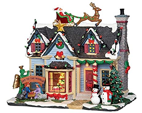 Lemax Christmas - Best Decorated House with 4.5V Adaptor (25337UK) - Amazon.com: Lemax Christmas - Best Decorated House With 4.5V Adaptor