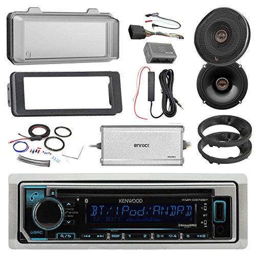 Kenwood Marine CD Bluetooth Radio, 2x Infinity 6522 Reference 6.5