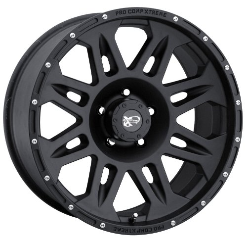 - Pro Comp Alloys Series 05 Wheel with Flat Black Finish (17x8