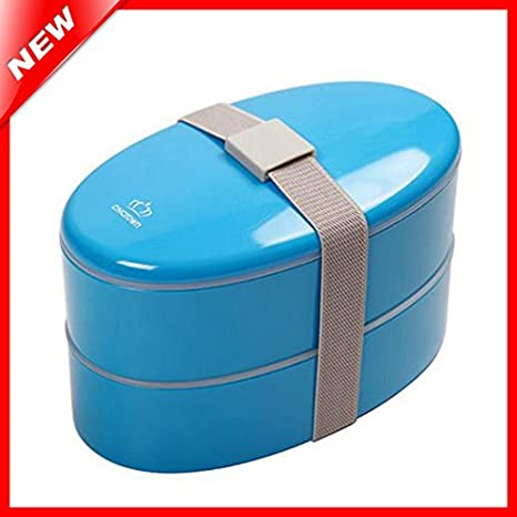 3 New Color Oval apta para microondas Sushi Bento caja de ...