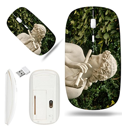 Marble Versailles - Luxlady Wireless Mouse White Base Travel 2.4G Wireless Mice with USB Receiver, 1000 DPI for notebook, pc, laptop, computer, macdesign IMAGE ID 25930552 Ile de France marble statue in the Versailles Pa