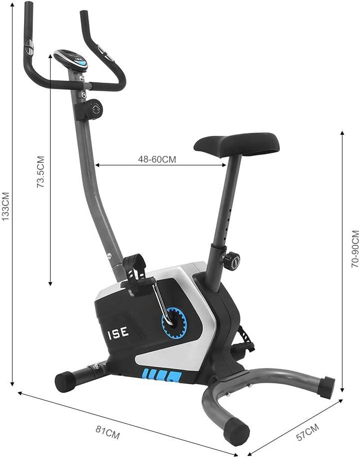 ISE Ergometer Fitness Fahrrad SY-8801 - Abmessungen