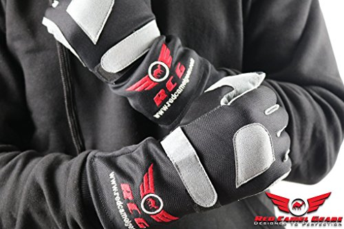 Red Camel Regular Racing Gloves For Karting/ Car Racing ()