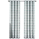 sheetsnthings Set of 2 Panels 108″ Wx96 L -Royal Tradition – Jacqueline -Mist – Jacquard Grommet Window Curtain Panels, 54-Inch by 96-Inch each Panel. Package contains set of 2 panels 96 inch long. Review