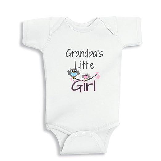 73e08162a Amazon.com: NanyCrafts Baby's Grandpa's Little Girl bodysuit: Clothing