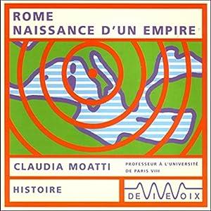 Rome, naissance d'un empire Discours