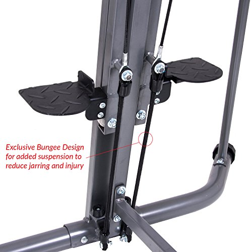 Body Champ Leisa Hart Cardio Vertical Stepper Climber / Includes Assembly Video, Meal Plan Guide, Workout Video access BCR890 by Body Champ (Image #7)