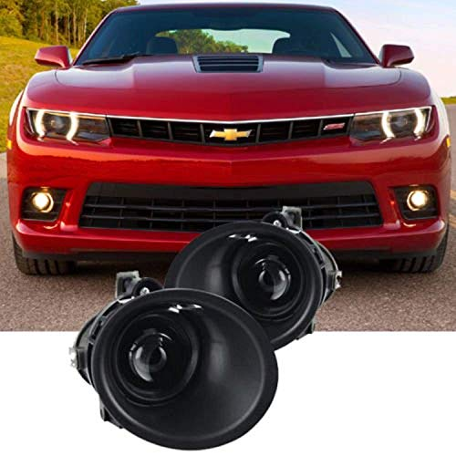 Remarkable Power Fit For 2014 2015 Chevy Camaro Front Pair Fog Light Bumper Lamps Set FL7081 - New Fog Lamp Driving Light
