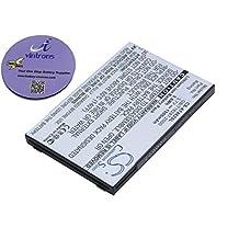 vintrons (TM) Bundle - 1500mAh Replacement Battery For AIRIS GB/T18287-2000, GB/T18287-2000, + vintrons Coaster