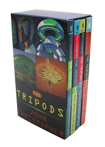 The Tripods Boxed Set of 4: When the Tripods Came/ the White Mountains/ the City of Gold and Lead/ the Pool of Fire