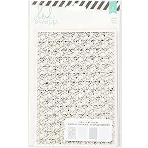 "Heidi Swapp 369282 Wanderlust Lace Paper Pack, 5 X 7"""