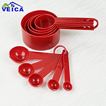 Home Appliance Parts Official Website Plastic Measuring Cups Measuring Spoon Kitchen Tools Measuring Set Tools For Baking Coffee Tea Coffee Maker Parts