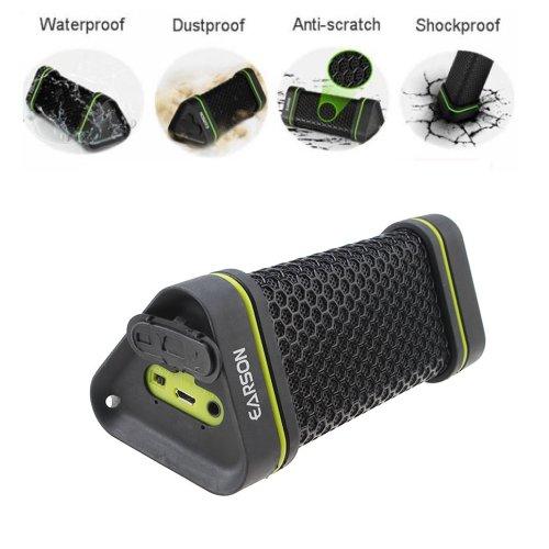 AGPtek EARSON Waterproof Shockproof Wireless Bluetooth Speak