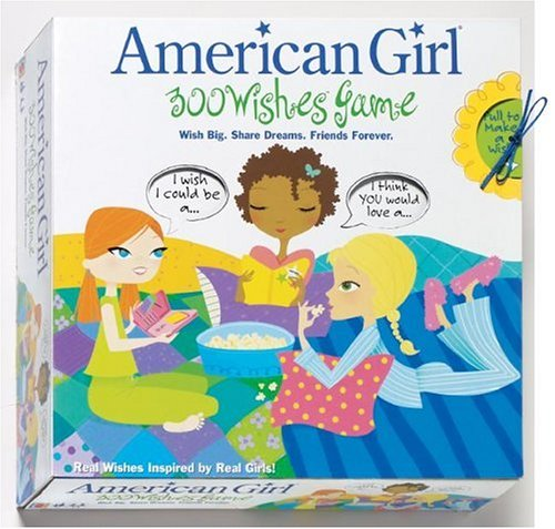 American Girl Card Games - 300 Wishes Game: Wish Big. Share Dreams. Friends Forever. (American Girls Collection Sidelines)