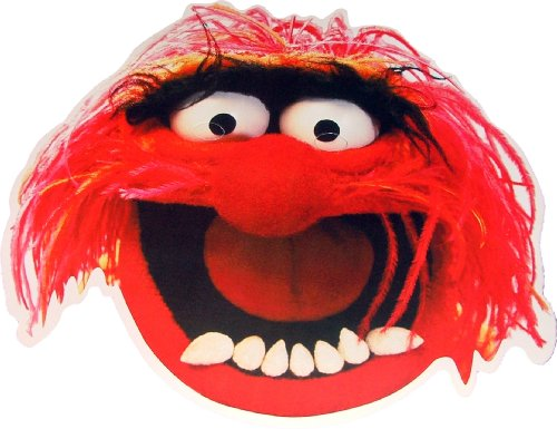 The Muppets - Animal - Card Face Mask -