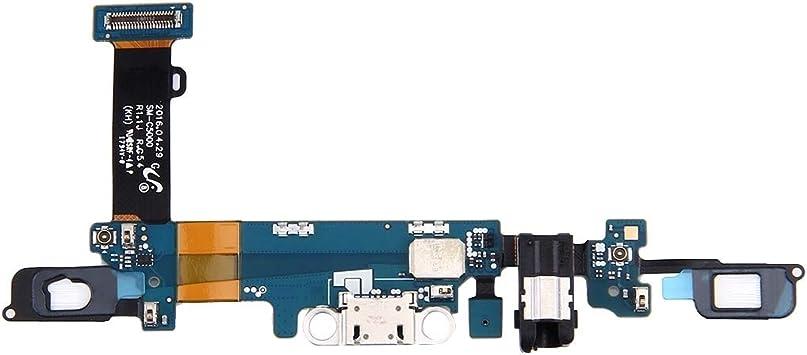 LIUXING Cola único Conector For Samsung Galaxy C5 / C5000 Puerto de Carga Flex Cable Reparar: Amazon.es: Electrónica