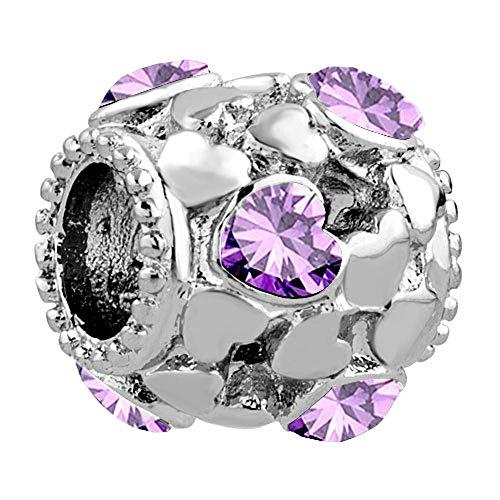 Purple Heart Charm - 1