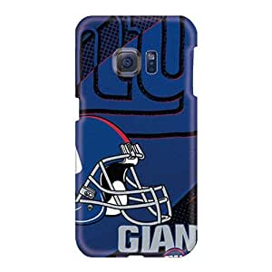 Samsung Galaxy S6 TQe1202IsFc Customized Lifelike New York Giants Image Protector Cell-phone Hard Cover -Evanhappy42