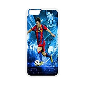 iPhone 6 Plus 5.5 Inch Phone Case White Lionel Messi SF8611543