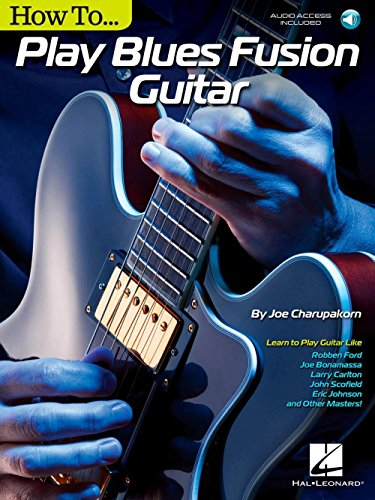 Hal Leonard How To Play Blues Fusion Guitar - Book/Audio (Hal Leonard Master Scale)