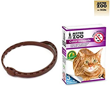COLLAR REPELENTE PARA GATOS COLLAR ANTIPULGAS PARA GATOS COLLAR PARASITOS GATO: Amazon.es: Jardín