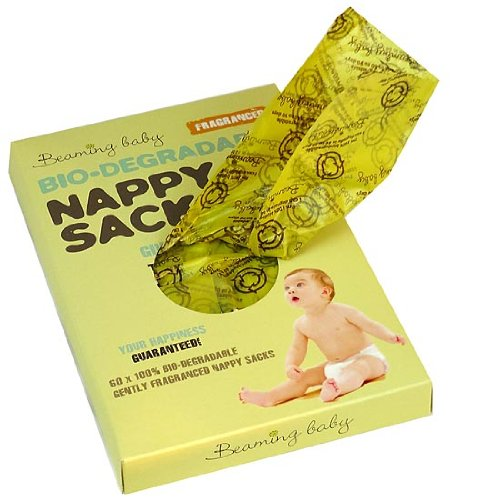 Beaming Baby Bio-degradable Fragranced Nappy Sacks - Case of 10