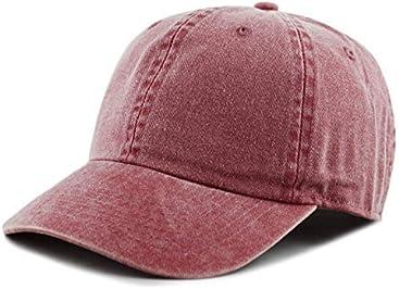 a248efad6e98a THE HAT DEPOT 100% Cotton Pigment Dyed Low Profile Six Panel Cap Hat