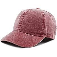 THE HAT DEPOT 100% Cotton Pigment Dyed Low Profile Six Panel Cap Hat
