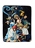 Disney Kingdom Hearts Characters Throw Blanket