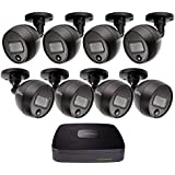 Q-See (QC918-8FJ-1) Home Security Kit, 8 Channel 1080P Analog HD DVR 1TB Hard Drive 8X 1080P PIR Security Cameras, Smart Phone Compatible, Night Vision, Indoor Outdoor