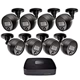 Q-See (QC918-8FJ-1) Home Security Kit, 8 Channel 1080P Analog HD DVR with 1TB Hard Drive and 8X 1080P PIR Security Cameras, Smart Phone Compatible, Night Vision, Indoor and Outdoor