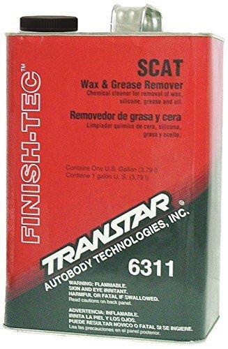TRANSTAR 6311 SCAT Wax and Grease Remover - 1 Gallon