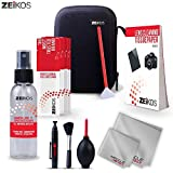 Zeikos Professional Camera Cleaning Kit, Includes Air Blower, Lens Cleaning Pen, Lens Brush