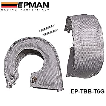 tansky – H Q T6 Turbocompresor calor Wrap Manta/manta Turbocompresor Beanie (color: gris