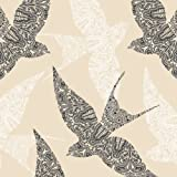 Swallows Paper Lunch Napkins 40pcs , Lace Birds, Spring Deco