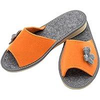 Absoft - Zapatillas antideslizantes de andar por casa