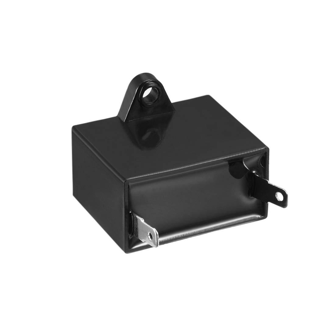 sourcing map CBB61 Betriebskondensator 450V AC 6uF Einzeln Pol f/ür Deckenventilator de