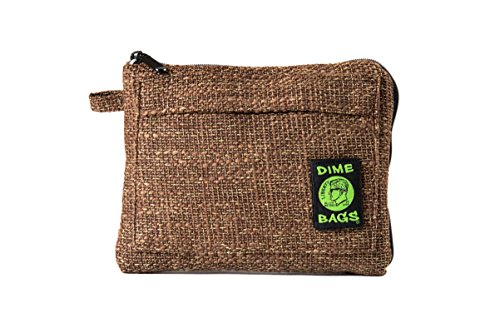 Padded Pouch - Soft Interior with Secure Heavy-Duty Zipper (10-Inch) (Brown)