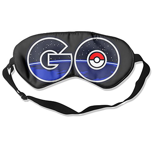 Price comparison product image EAUTOP Custom Pokemon Go Eye Mask/Sleeping Mask