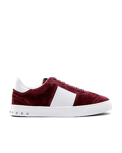 Valentino Garavani - Zapatillas para Hombre Granate IT - Marke Größe, Color, Talla 41 IT - Marke Größe 41: Amazon.es: Zapatos y complementos