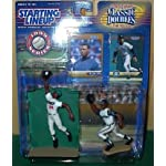 Ken Griffey, Jr. Action Figures From the Minors and the Majors – San Berandino Spirit and the Seattle Mariners Uniforms – Series Starting Lineup Classic Doubles MLB Baseball Sports Collectible 1999