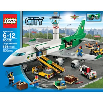 Lego City Cargo Terminal 60022 Amazon Office Products
