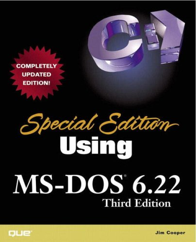 Special Edition Using MS-DOS 6.22 (3rd Edition)