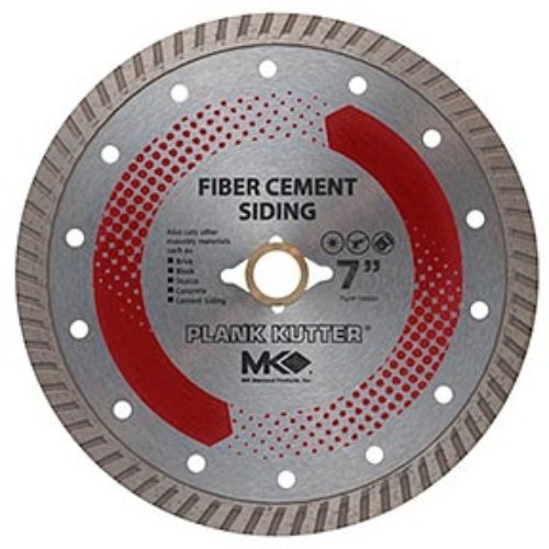 Diamond 156994 Plank Kutter 7-Inch Dry Cutting Continuous Rim Diamond Saw Blade with 5/8-Inch Arbor for Fiber Cement Siding