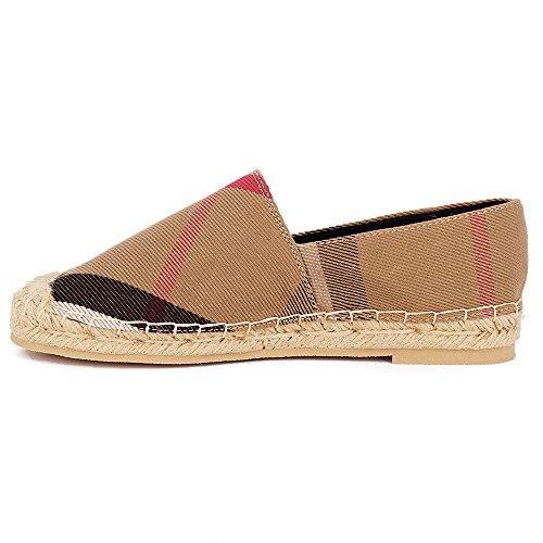 Tengyu Flats Shoes Women's Espadrilles Original Slip On Loafer Shoes Classic Canvas Comfort Alpargatas(US8=EU39=24.5CM) by Tengyu (Image #3)