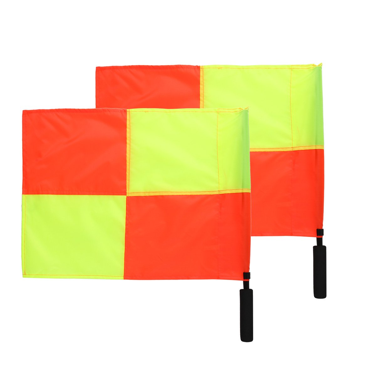chictryサッカーレフェリーフラグThe World Cup再生スポーツ一致Football Linesman Competition機器サッカーレフェリーフラグ B076V9ZQWS