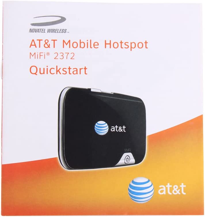 Vktech AT/&T Novatel MiFi 2372 Wireless Mobile Hotspot USB 3G Network WiFi Router